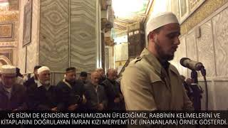 Osman bostancı Mescid-i Aksa Kudüs Yatsı Namazı