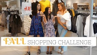 FALL Trends 2017 | H&M  Shopping Challenge
