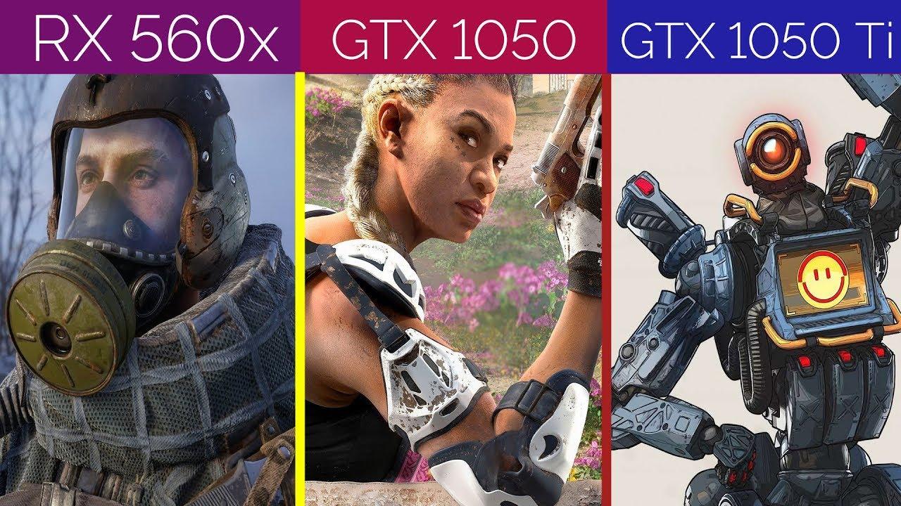 RX 560X vs GTX 1050 vs GTX 1050 Ti Benchmark 2019