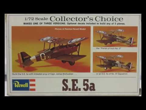 1/72 Revell S.E.5a Kit#H-69