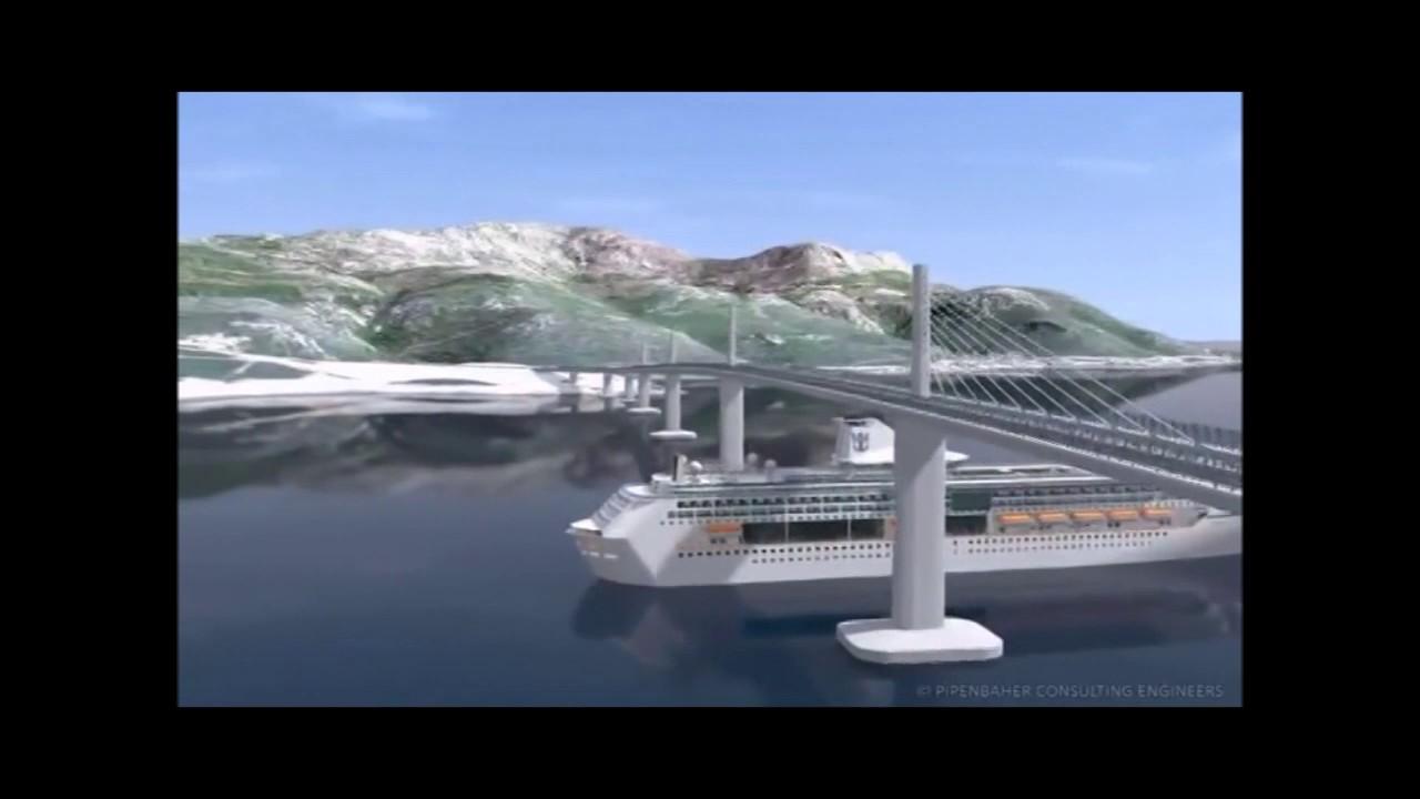 Image result for izgradadnja peljeskog mosta karte