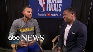 Steph Curry speaks out before showdown with Cavaliers