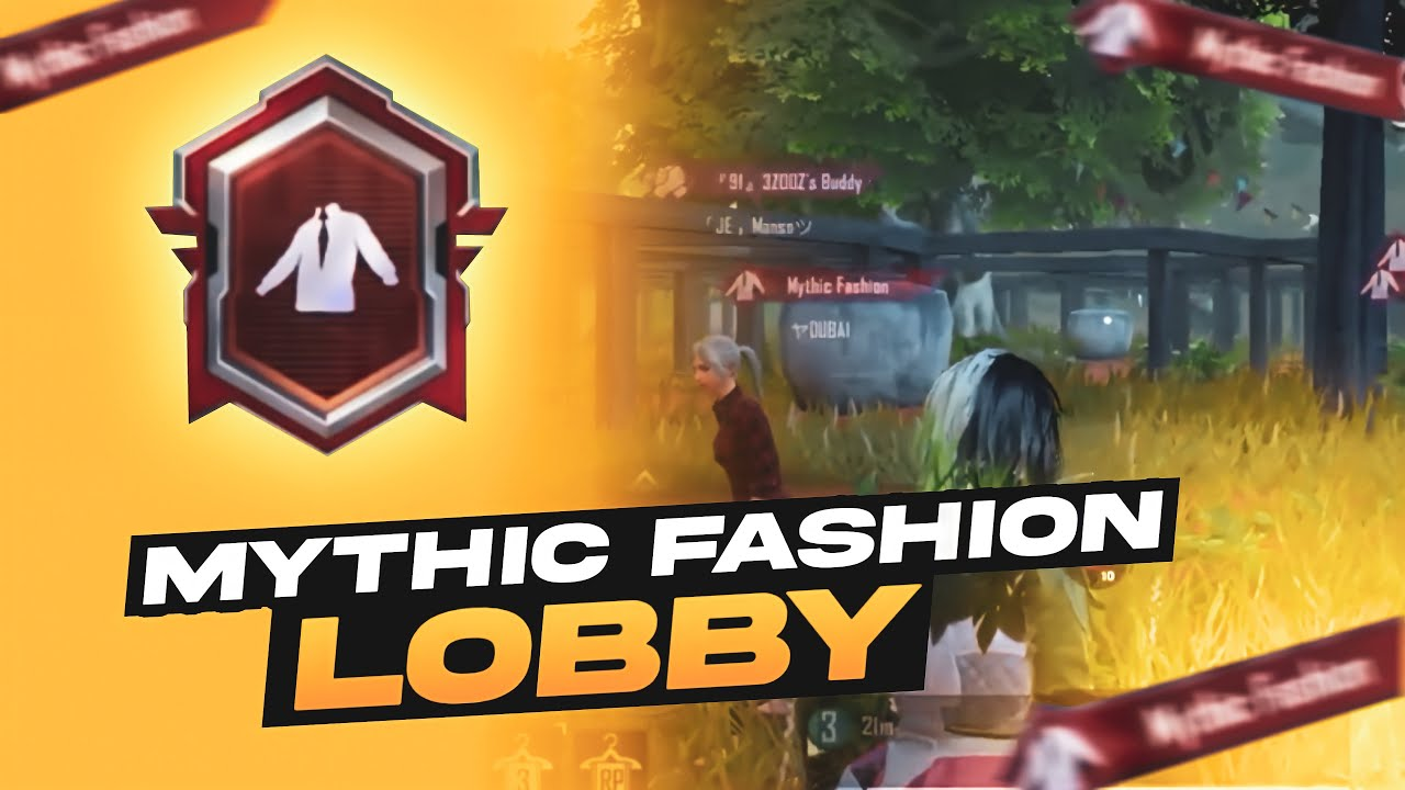This is Why You Should Leave Mythic Fashion Lobby ! Pubg Mobile