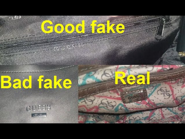 Copy Guess Bag How To Spot Fake