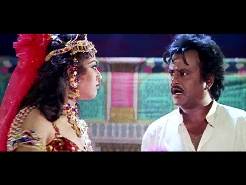 Meena's acting in drama troupe | Muthu | Tamil Movie | Part 4