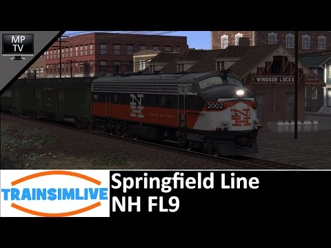 Let's Play Train Simulator 2016 - Springfield Line, NH FL9