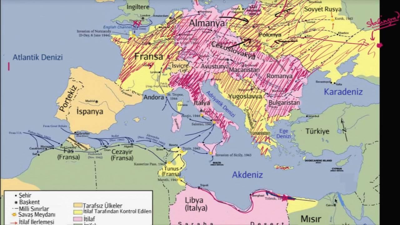 1942 - Avrupa'da Savaşın Akışının Tersine Dönmesi (Dünya Tarihi / Yakın Tarih (20. Yüzyıl))