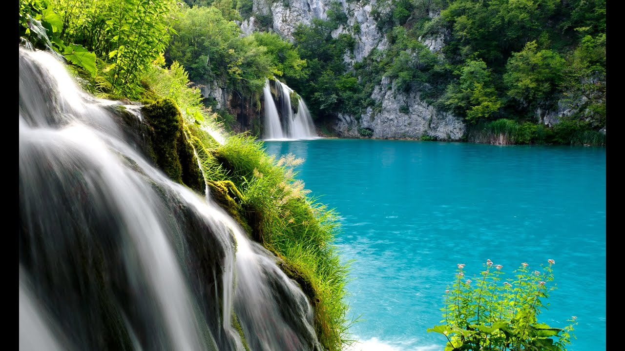 Relaxing nature sounds plitvice lakes national park waterfall croatia travel nature hd 1080p - Plitvice lakes hd ...
