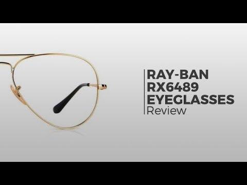 288596b1d9bf Ray-Ban RX6489 Eyeglasses | Flash Preview - YouTube