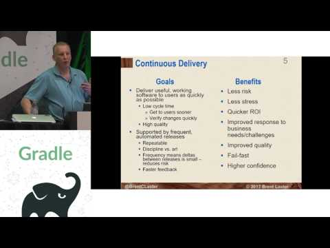 Gradle Summit 2017 — Use Gradle with Jenkins 2 to construct a Continuous Delivery Pipeline