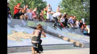 The Moose is Loose @ Toronto Ashbridges Bay Skatepark. ZERO/MYSTERY/FALLENskateboards
