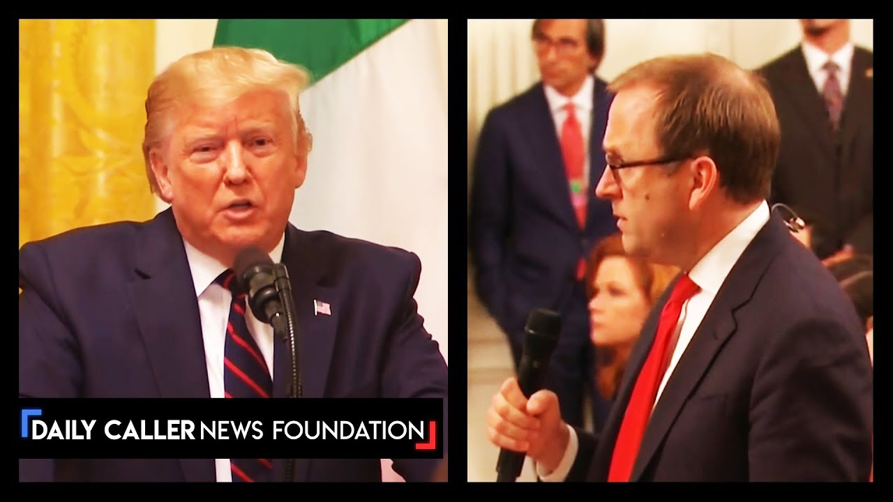 DC Shorts Trump rips into reporter