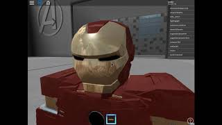 Roblox İron Man Simulator