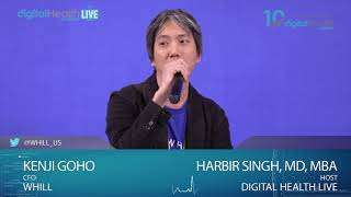 Interview Kenji Goho/Whill - Digital Health Summit Live Studio - #CES2019 #DHS19