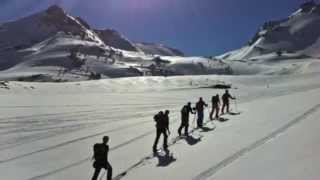 Splitboard, ski touring and off piste at Chatel