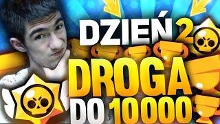 [LIVE] Brawl Stars Droga do 10 000???? w 10 dni- DZIEŃ 2, Cel: 7200 - Na żywo