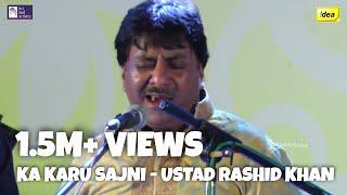 Ustad Rashid Khan | Kaa Karu Sajani | Raag - Mishra Kirwani | Idea Jalsa 2015 | Bhubaneshwar
