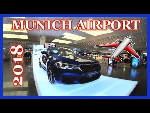 MUNICH AIRPORT 2018 - Complete tour ✈️ Flughafen München - Kompletter Rundgang  ✈️ ***NEW*** 慕尼黑飞机场