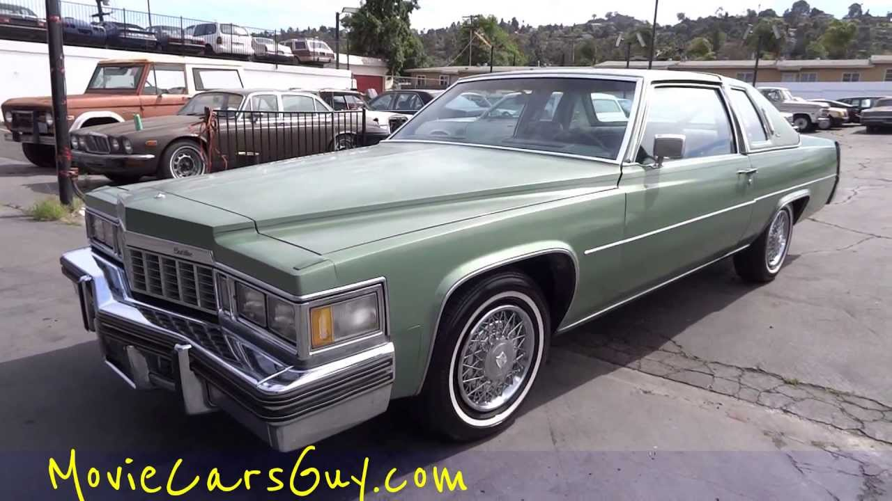 Movie Car TV Series Film Cars Cadillac Coupe DeVille