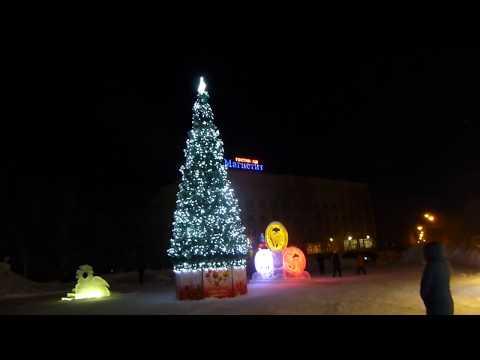 Новогодняя ночь 2018-2019 в Железногорске-Илимском