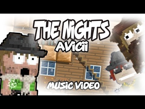 Avicii - The Nights ( Music Video ) Growtopia