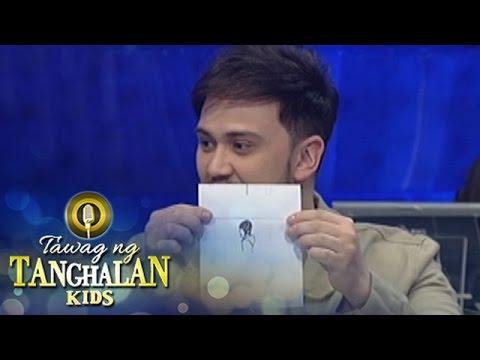 Tawag ng Tanghalan Kids: Billy shows his drawing