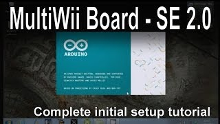 Crius SE V2.0 MultiWii Board (MWB) Overview and Setup