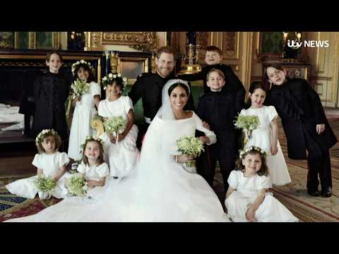 Harry and Meghan's official wedding photographs released | ITV News