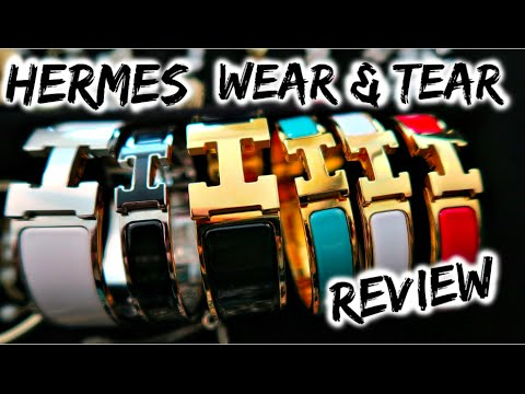 Hermes Review & Wear And Tear (H Clic, Kelly Double Tour And Rivale Double Tour Bracelets)