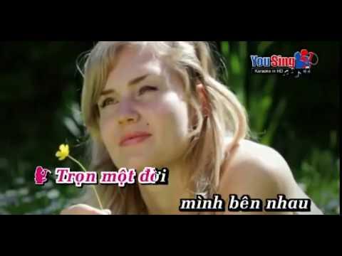 Karaoke Thề Non Hẹn Biển song ca cho nữ