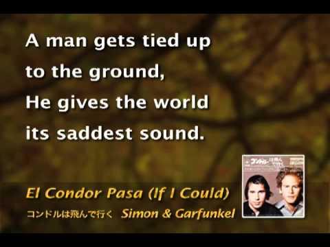 4. 4º El Condor Pasa HQ    karaoke   Simon  Garfunkel.wmv
