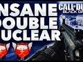 BO2: *INSANE* Double Nuclear W/ SCAR H ON Yemen