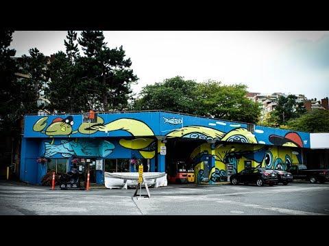 The SECRET Granville Fish Market   Granville Island, Vancouver BC