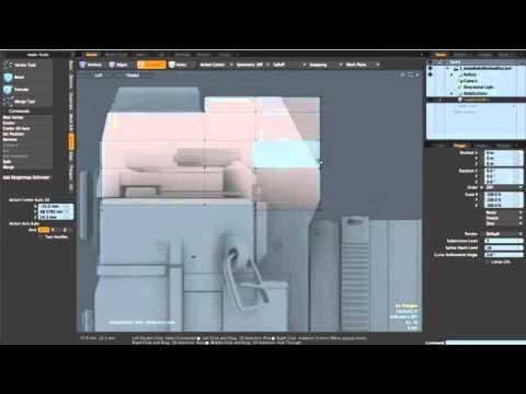 Create a Photorealistic Canon A1 Camera in Modo 302 - 1a