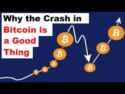 Why the Bitcoin Crash is a GOOD Thing