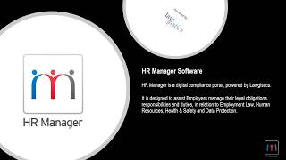 We are proud to announce the release of hr manager, free all lawgistics members.hr manager gives business owners power delegate employment law, hea...