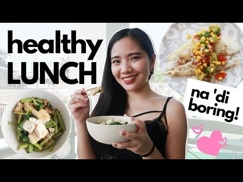 Healthy Lunch Ideas (Philippines) | Easy & Affordable Diet | 300 To 400 Calories