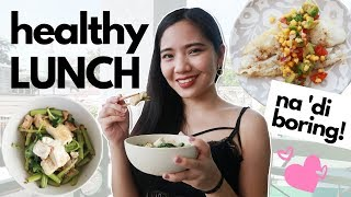 Healthy lunch ideas (philippines) | easy & affordable diet 300 to 400 calories