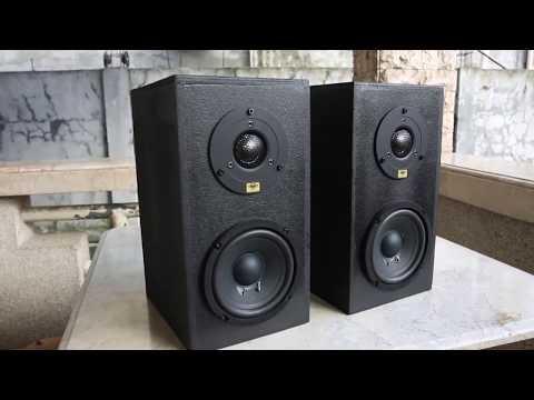 DIY Desktop Speakers, 2 Way Crossover and Wiring