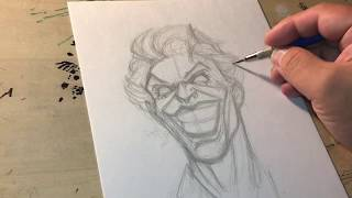 How To Draw The Joker Part 1