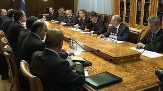 Владимир Путин проведет переговоры с эмиром  Катара Тамимом Бен Хамад Аль Тани.