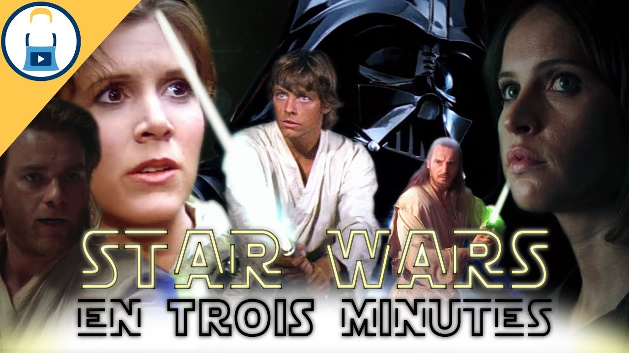Troll Express Les 2 Trilogies Star Wars En 3 Minutes Youtube