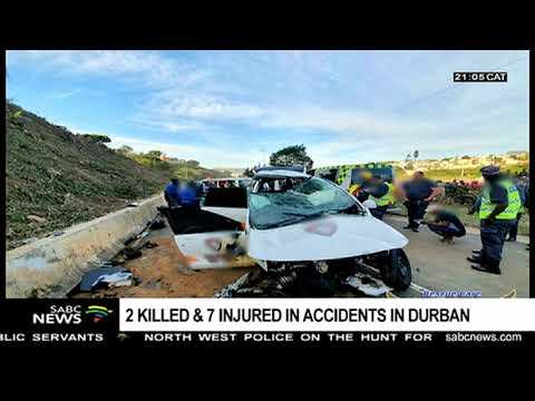 2 dead, 7 injured in KwaZulu-Natal accidents