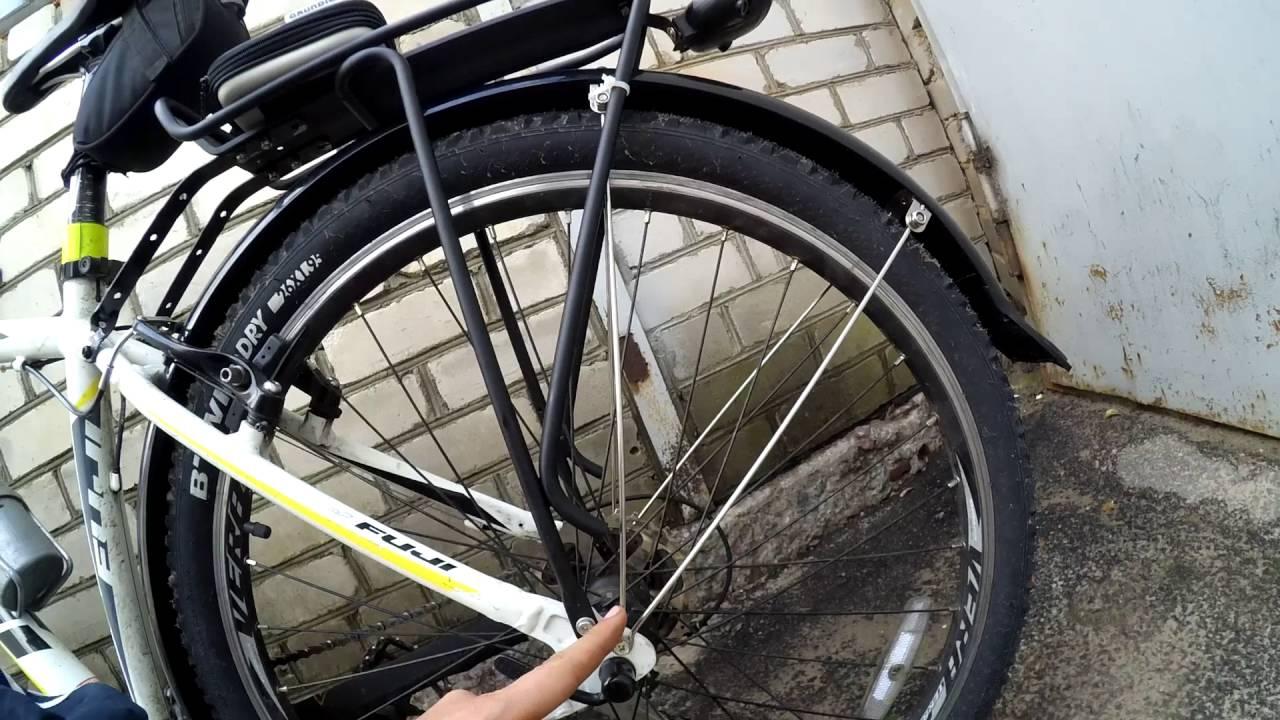 полноразмерные крылья для велосипеда fuji nevada 1 7 - YouTube d5425d012fb14