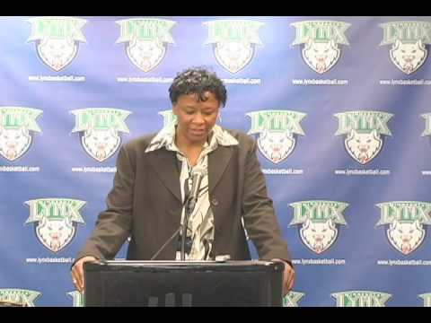 Post Game Audio with Coach Gillom: Minnesota Lynx vs. Phoenix Mercury 8-1-09