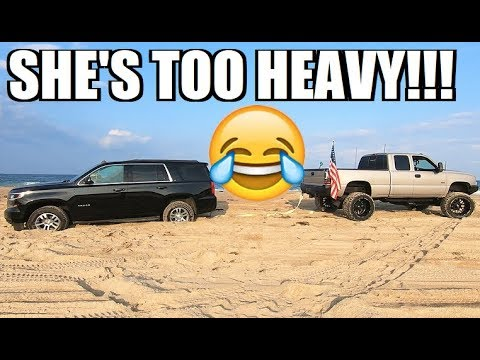 DON'T UNDERESTIMATE Soft Sand!!! Duramax Tries to SAVE One Family's Vacation...
