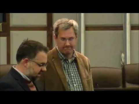 Todd Halihan at Fracking Water Forum in Norman OK