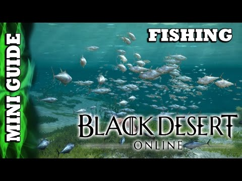Black Desert Online - Mini Guide - Fishing & Partial Trading