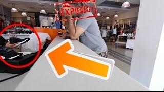 HUGE SNEAKER RESELLER EXPOSED!!!