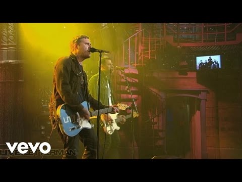 The Gaslight Anthem - Great Expectations (Live On Letterman (Explicit))